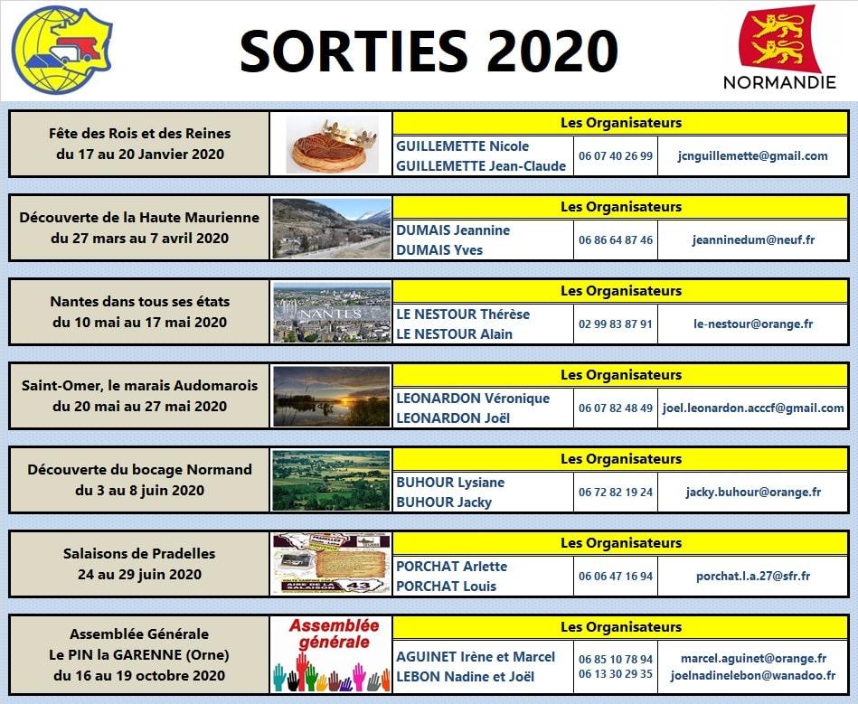 Ffcc Calendrier 2020.Norm 2020 Les Sorties A Venir Acccf